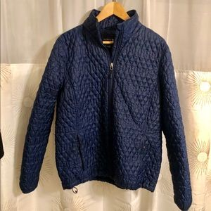Lands End Primaloft Quilted packable jacket